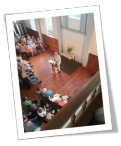 Phil at Meetinghouse